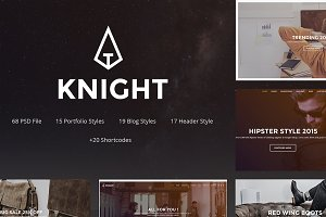 Knight - Corporate and Shop PSD