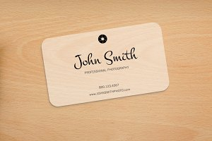 Photography Rounded Corners Card