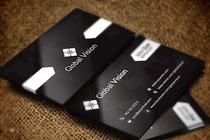 Global Vision Business Card