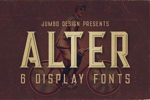 Alter - Vintage Style Font