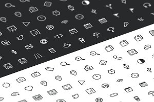 Outline Icon Set 100+