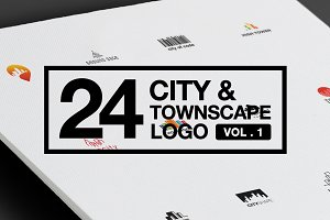 24 City Scape Logo Collections