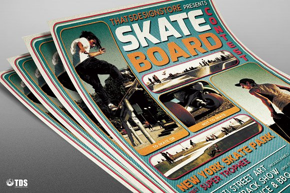 Skating Competition Flyer Template Flyer Templates on Creative – Competition Flyer Template