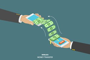 Wireless money transfer