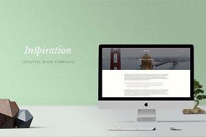 Inspiration — Lifestyle Blog PSD