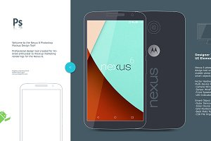Nexus 6 Android Mockup & Concept