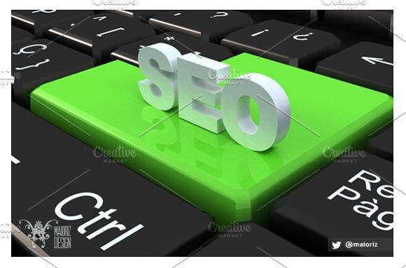 SEO Keyboard in Graphics