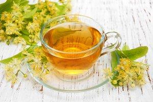 Cup of herbal tea