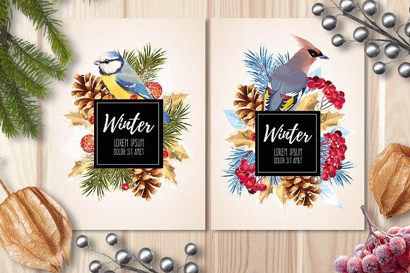 Winter Card 3