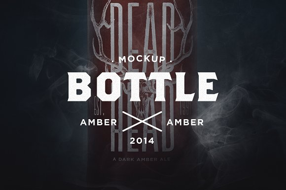 Free Limited Dark Amber Mock-Up