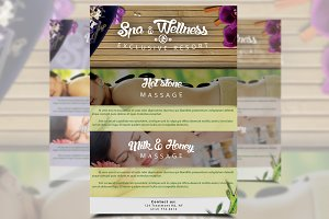 Spa & Wellness Flyer