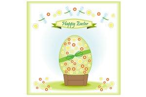 Big Easter egg greeting card