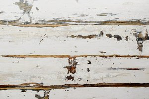 white weathered wooden background, selective focus