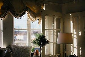 Afternoon Sunlight through Windows