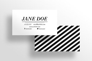 The Boutique -Business Card Template