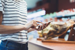 Shopping list on your smartphone