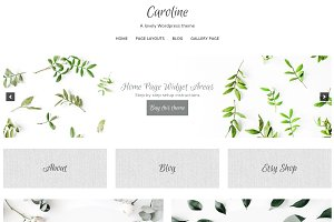 Caroline Wordpress Genesis Theme