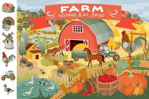 Clip art - Farm