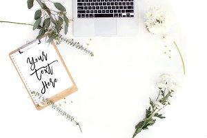 Styled Desktop | Clipboard Mockup