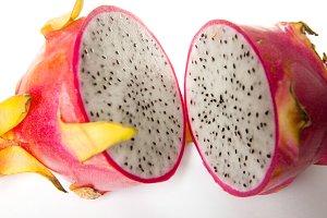 Fresh ripe exotic fruit