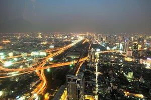 a big modern city
