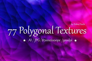 77 Poligonal backgrounds