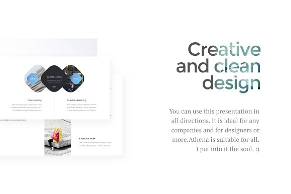 Athena Keynote Presentation in Presentation Templates - product preview 2