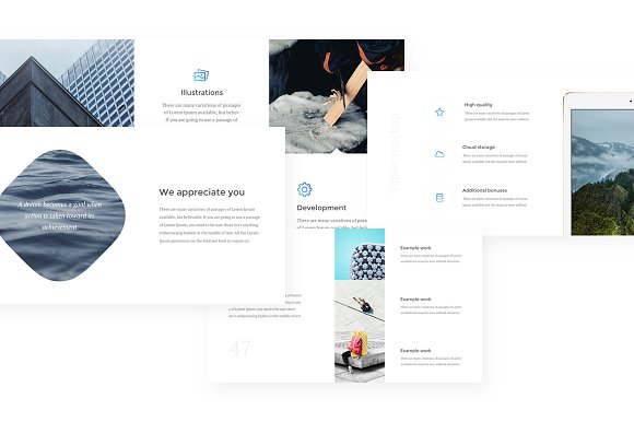 Athena Keynote Presentation in Presentation Templates - product preview 5