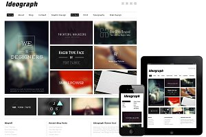 Ideograph Responsive WordPress Theme