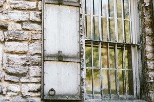 Old Stone Building Window