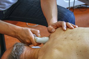 Ultrasound physiotherapy