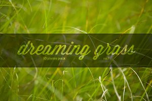 Dreaming grass no.2 - 10 photoset