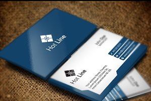 Hot Line Business Card