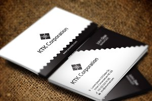 Ktk Corporation Business Card