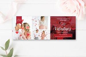 Valentines Facebook Timeline