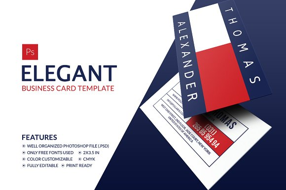 Elegant business card business card templates creative market accmission Image collections