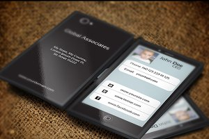 Mobile Phone Business Card