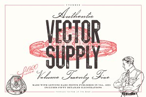 Unember Vector Supply Volume 25