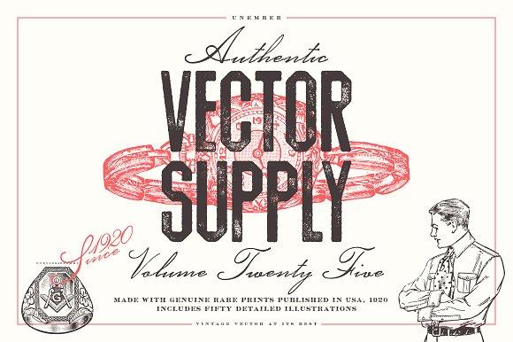 Unember Vector Supply Volume 25