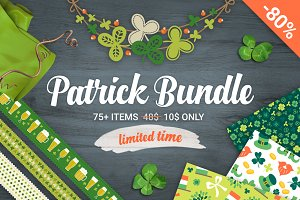 80% Off - Patrick's Day Big Bundle