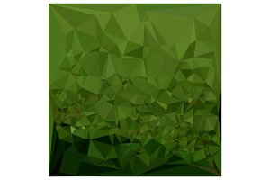 Chlorophyll Green Abstract