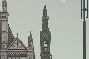 Basilica of Santa Croce. Florence