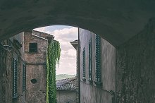 Traditional small Italian town