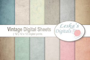 Vintage Paper Backgrounds