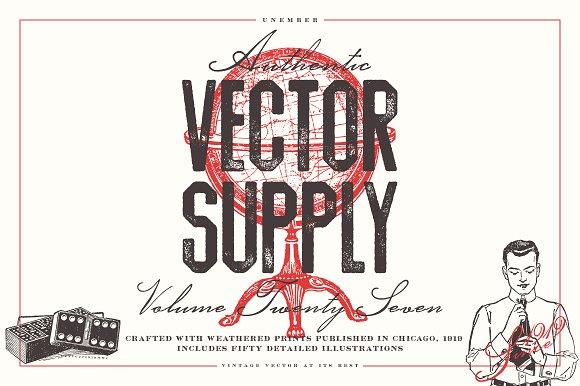 Unember Vector Supply Volume 27