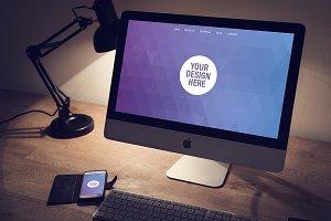 iMac mockup