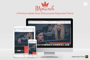 Monarch - Adobe Muse Theme