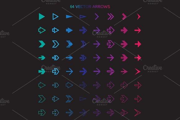 64 Arrows Set