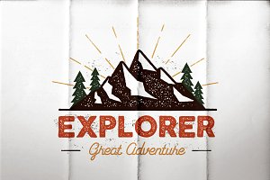 Outdoor Explorer Tee Design