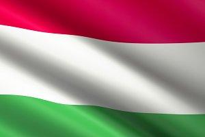 Hangary Flag